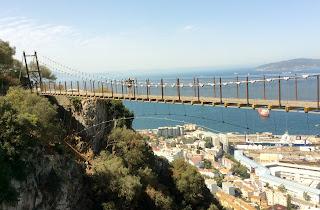 Ponte sospeso Rocca di Gibilterra