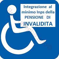 integrazione al minimo INPS per la pensione di invalidità 2018