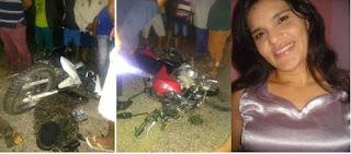 Choque entre motos deixa vítima fatal e outra em estado grave em Cacimba de Dentro