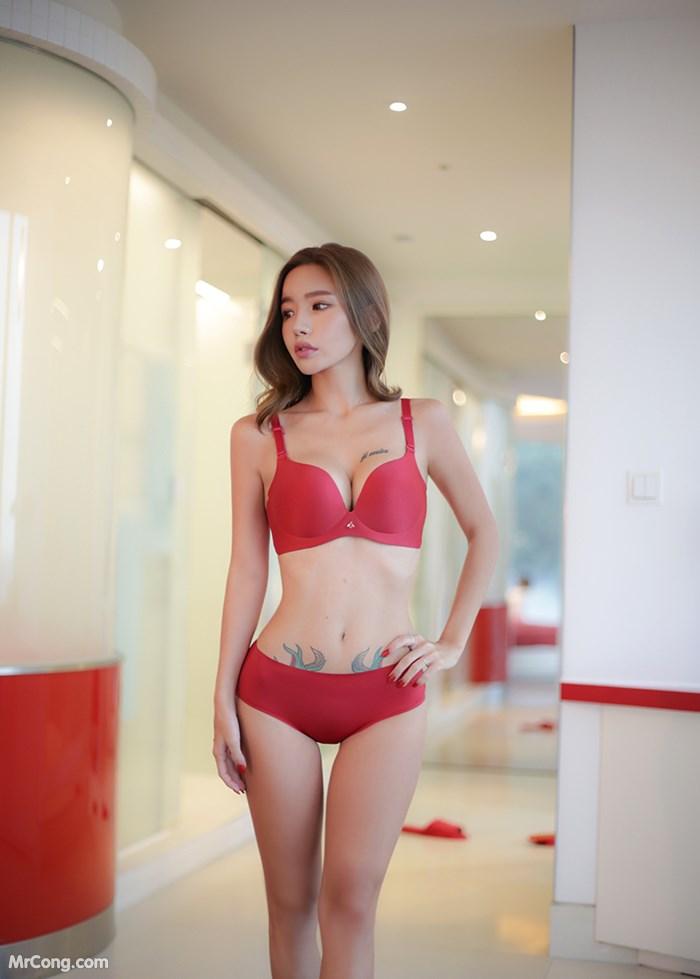 Image Korean-Model-Hwang-Barbie-MrCong.com-020 in post Người đẹp Hwang Barbie trong bộ ảnh nội y, bikini tháng 10/2017 (238 ảnh)
