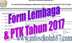Download Form Emis Lembaga Dan PTK  Emis Update Terbaru 2017/2018