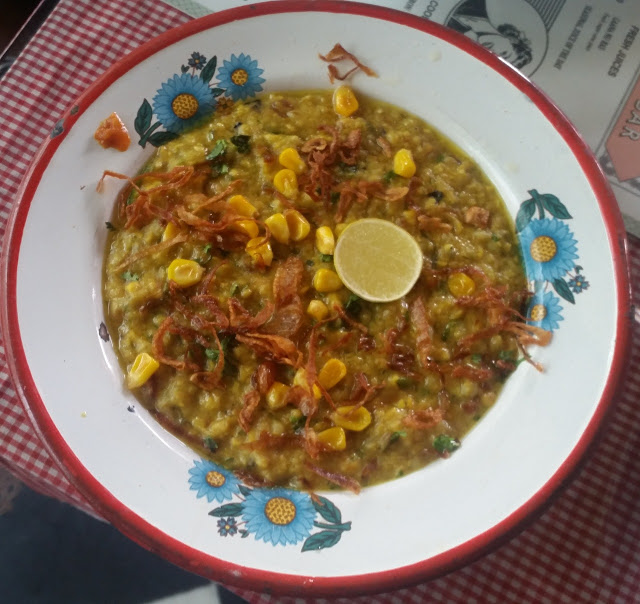 Roasted Corn Haleem