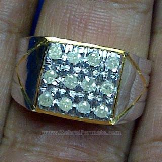 Cincin Pria Berlian Banjar - ZP 1057