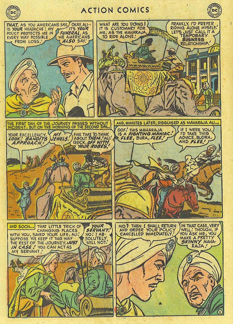 Action Comics (1938) 162 Page 20