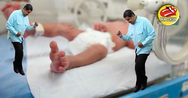 Régimen mató a 5 niños en el Luis Razetti de Barinas - Mueren por falta de Oxígeno