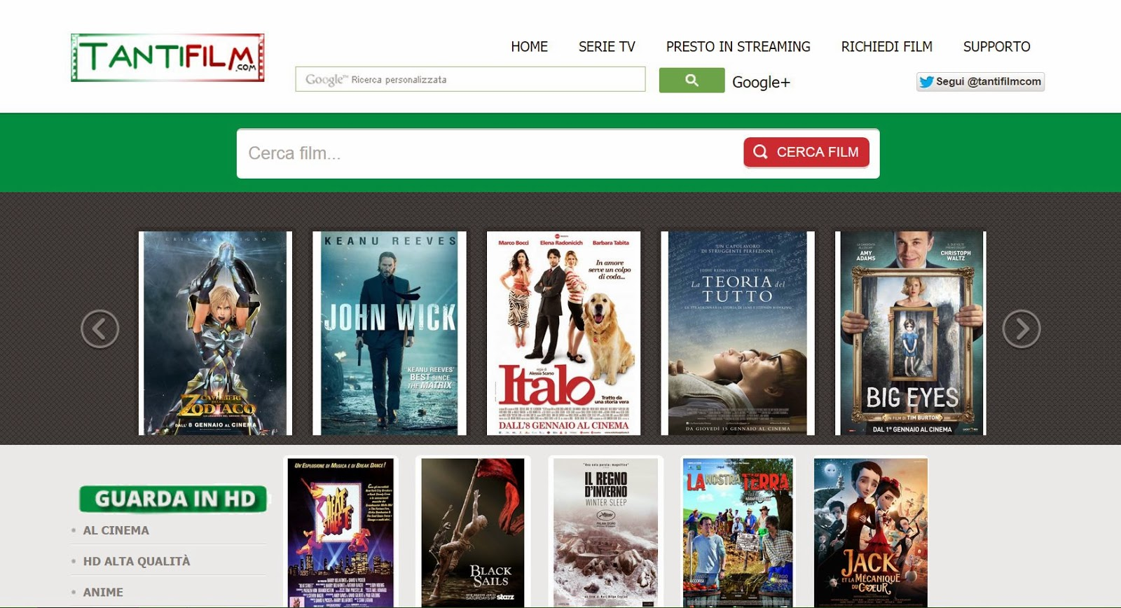 I Nuovi Siti Streaming per Telefilm e Film