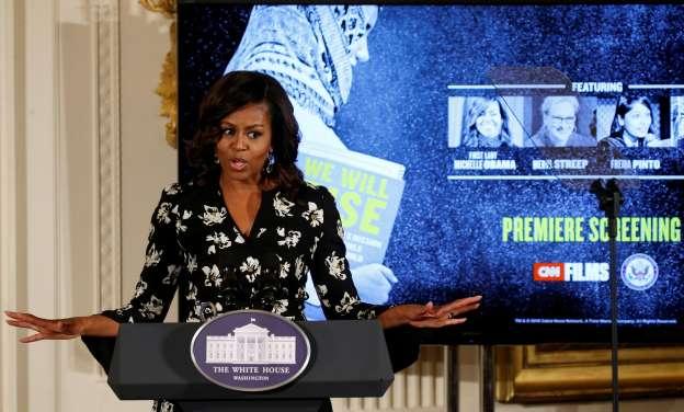 Michelle Obama Slams Trump Tape Comments
