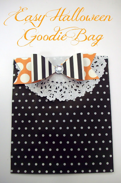 Easy Halloween Goodie Bag