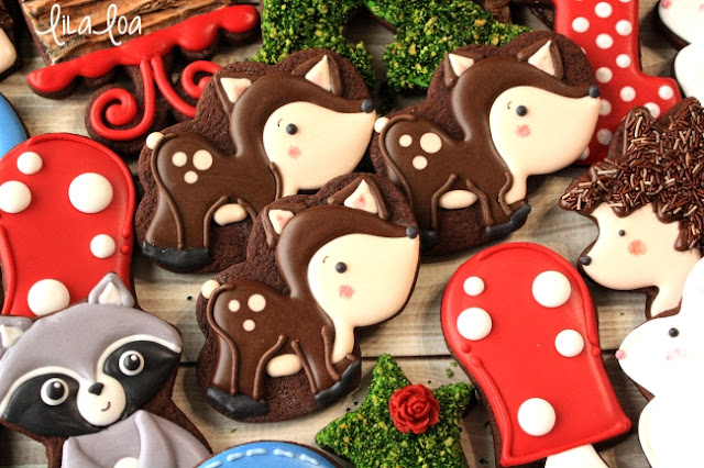 How To Make Decorated Woodland Deer Sugar Cookies
