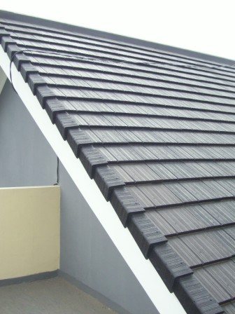 rangka baja ringan minimalis genteng beton rumah