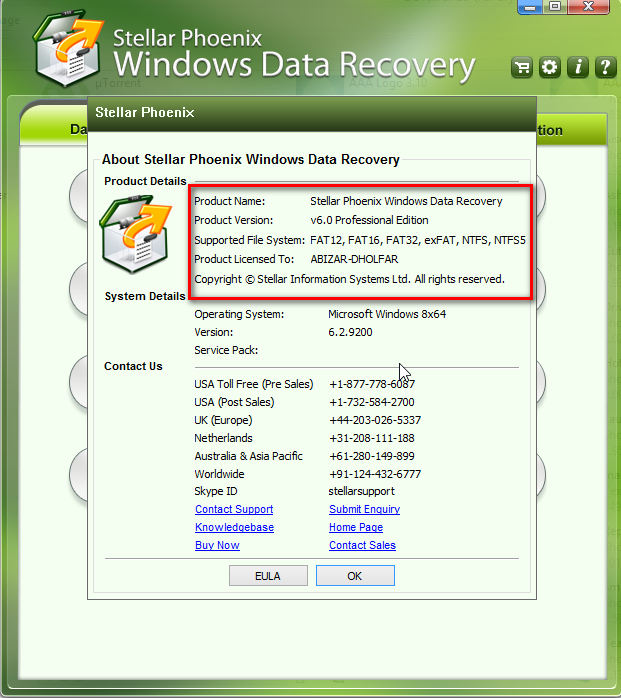 stellar phoenix windows data recovery key generator