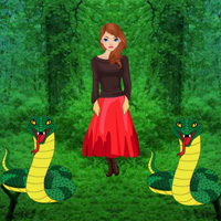 WowEscape - Rescue Girl from Snakes