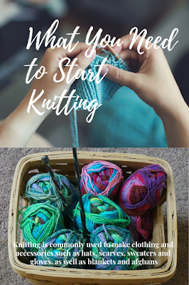 Knitting is commonly used to make clothing and accessories such as hats, scarves, sweaters and gloves, as well as blankets and afghans.