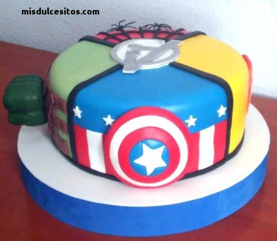 Tortas Avengers. Venta de Tortas Avengers en Lima,