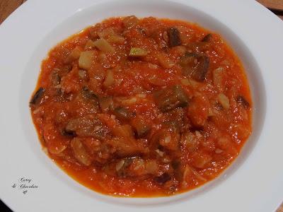 "Pisto de berenjena y calabacín al estilo de mi madre – Aubergine and zucchini ""pisto"""
