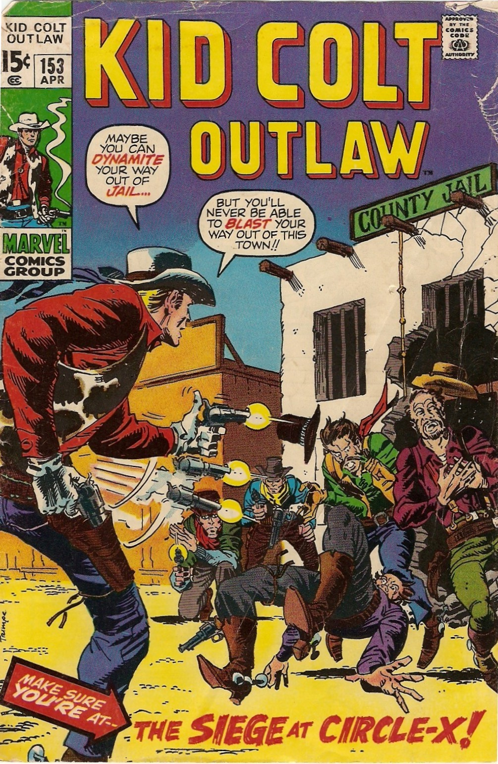 Kid Colt Outlaw issue 153 - Page 1