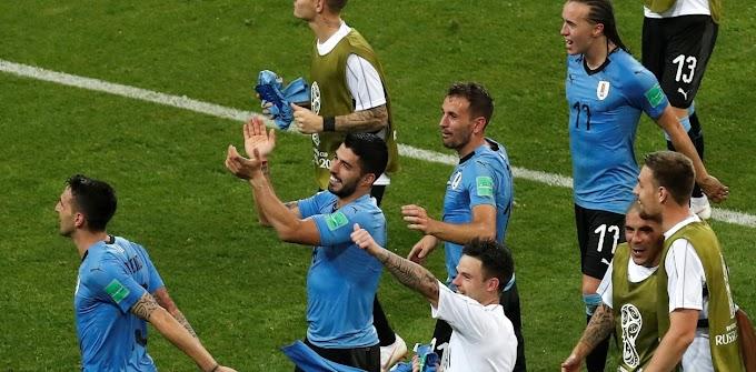 Uruguay dejó afuera a la Portugal de Cristiano Ronaldo