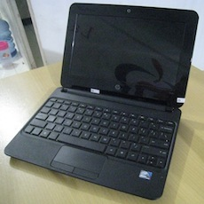 jual netbook second hp mini 110-3100