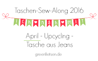 Taschen-Sew-Along 2016 | April - Upcycling - Tasche aus Jeans
