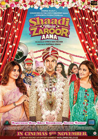Shaadi Mein Zaroor Aana 2017 HDRip 950MB Hindi 720p Watch Online Full Movie Download bolly4u