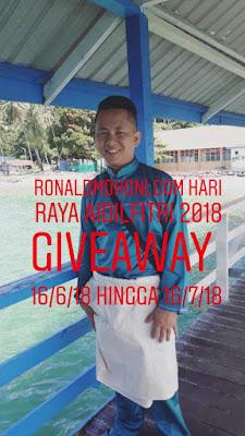 Ronaldmohoni.com Hari Raya Aidilfitri 2018 Giveaway, Blogger Giveaway, 2018, Peserta, Hadiah,