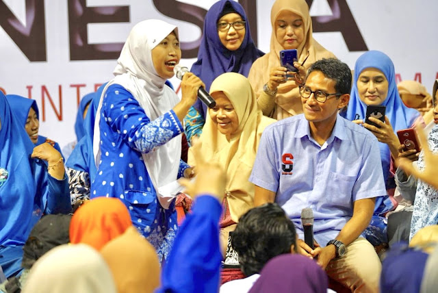 Kerap 'Dikalahkan' Tukang Survei, Sandi: Sama Seperti di Pilgub DKI 2017