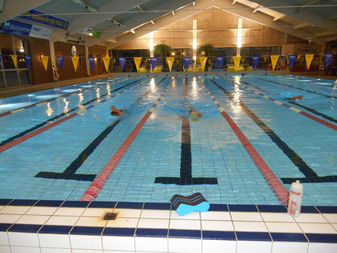 Allenamenti in piscina