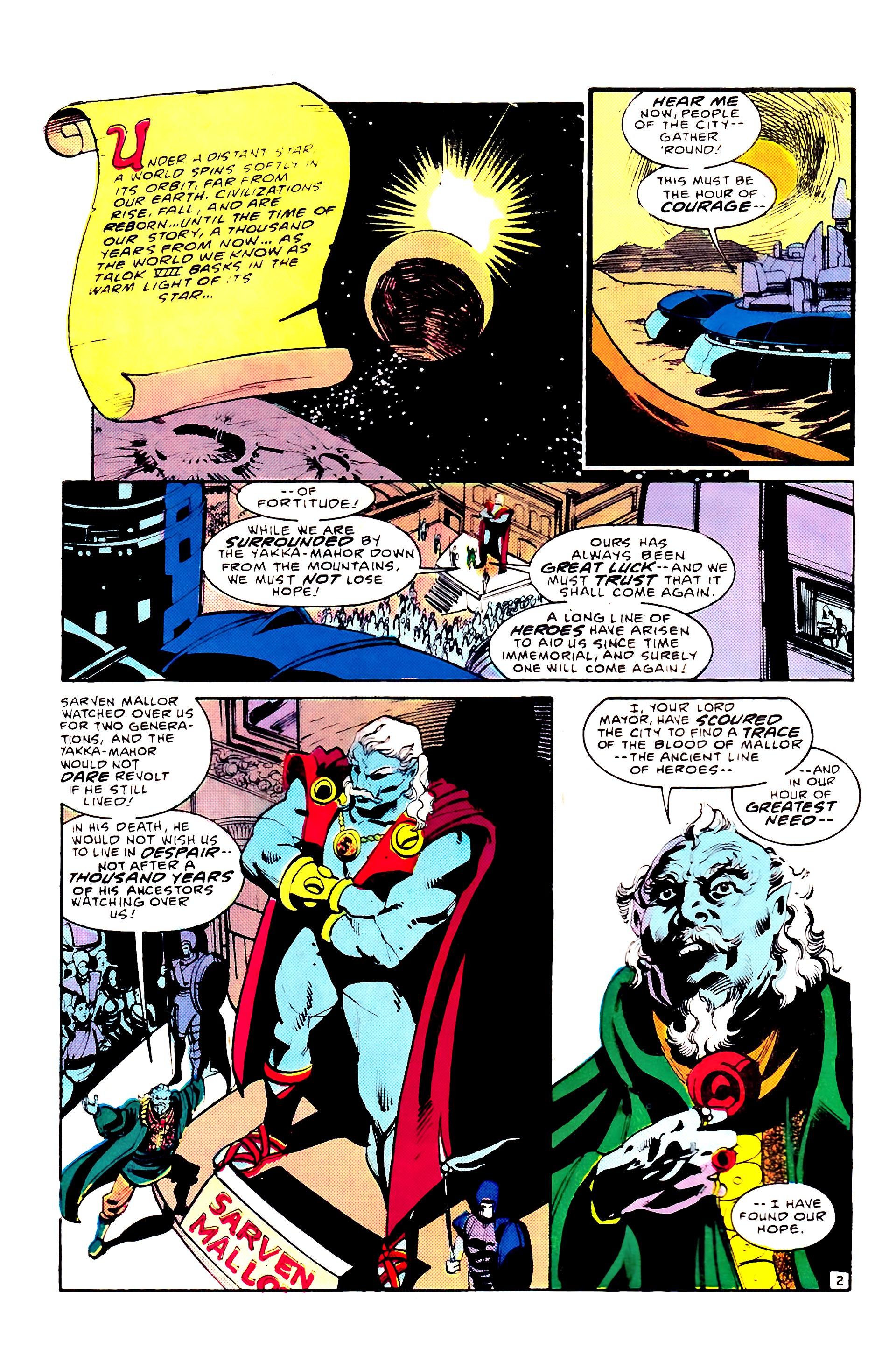 Read online Secret Origins (1986) comic -  Issue #8 - 4