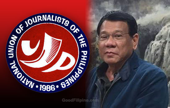 NUJP on Duterte's remark on media killings: 'Nothing justifies the murder of journalists!'