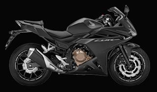 Honda CBR500R Terbaru 2016 Black hitam