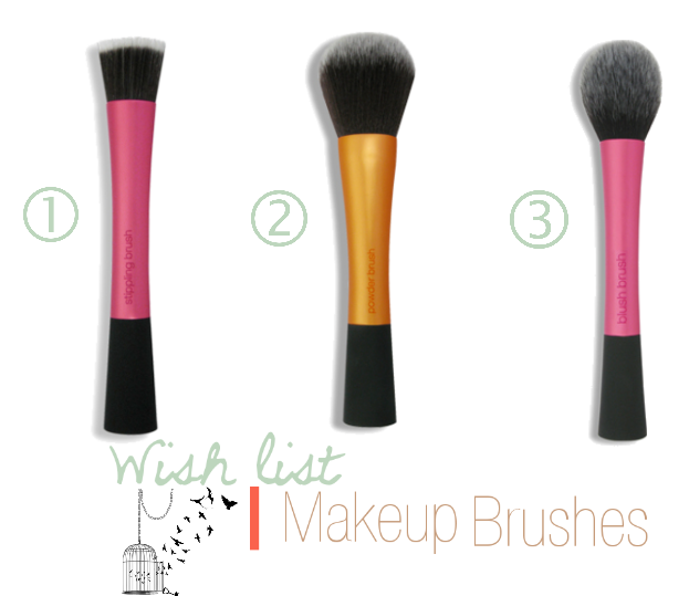 Wish list | Makeup Brushes