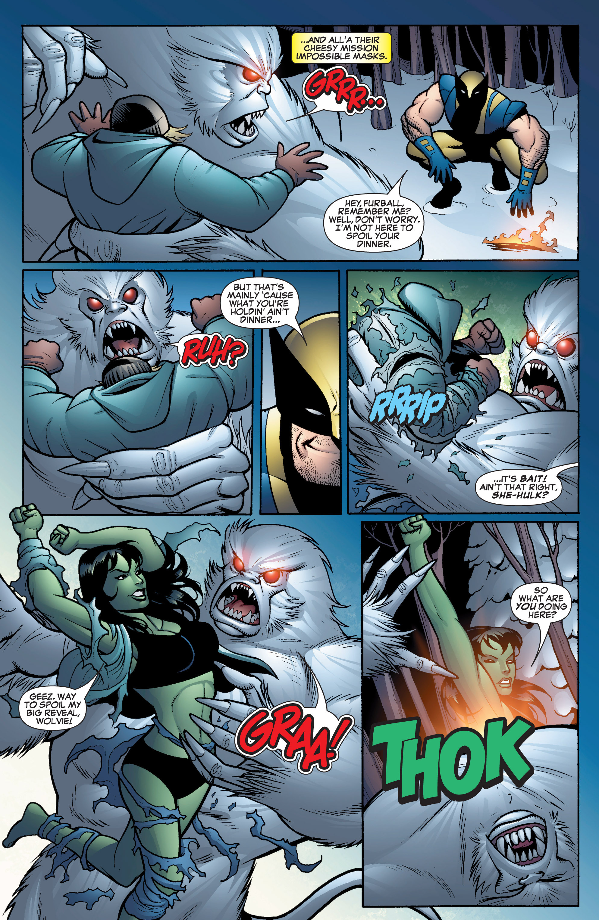 Read online She-Hulk (2005) comic -  Issue #16 - 5