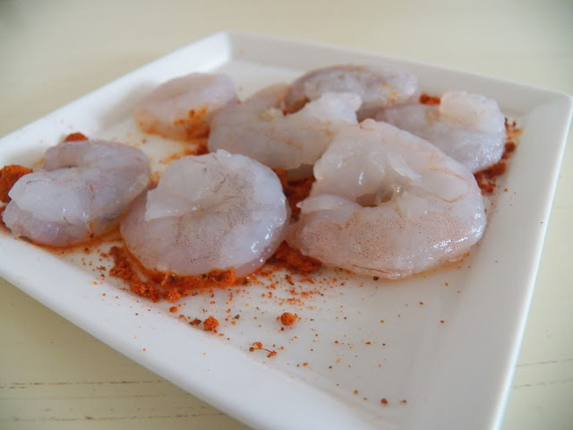 Shrimp with Black n' Bluesy Seasoning