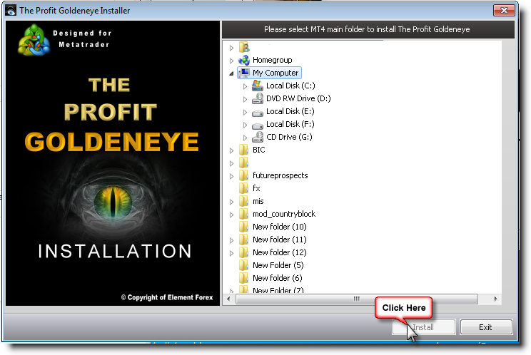 Profit goldeneye forex system