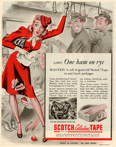 vintage advertisements from 1940s