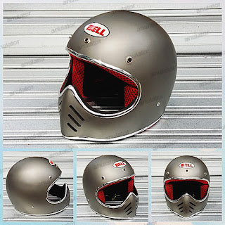 Helm Cakil Mini Moto3 List Chrome