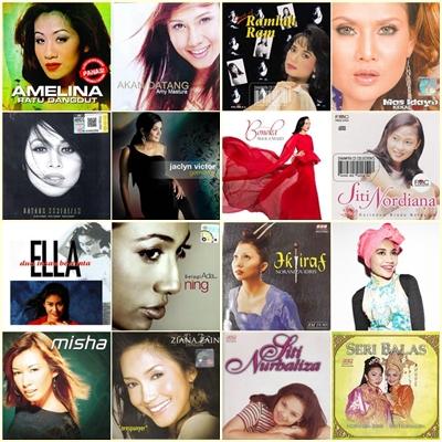 15 Penyanyi Wanita Terbaik Malaysia