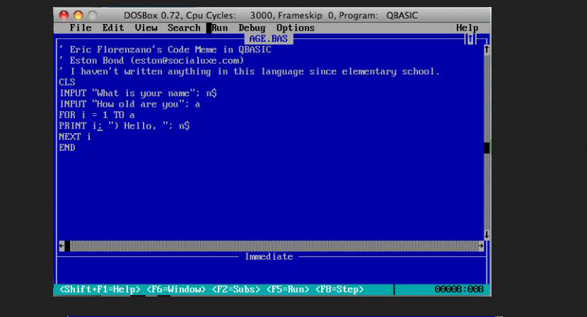 Learn programming in qbasic