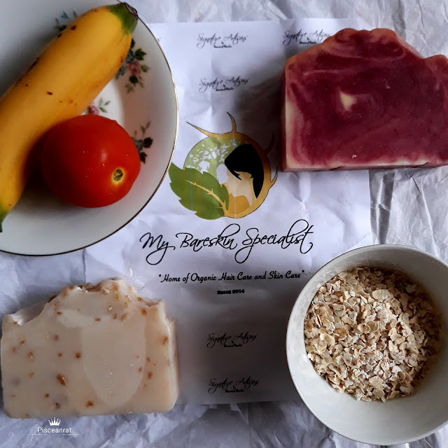 My BareSkin Specialist Oatmeal and Tomato Banana Soap Review
