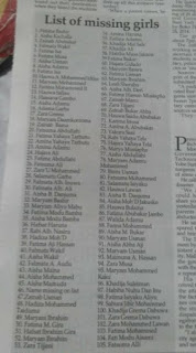 See The Names Of The Missing Dapchi School Girls