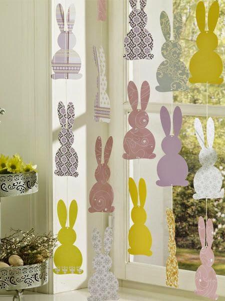 10 ideias legais para decorar a casa para Páscoa