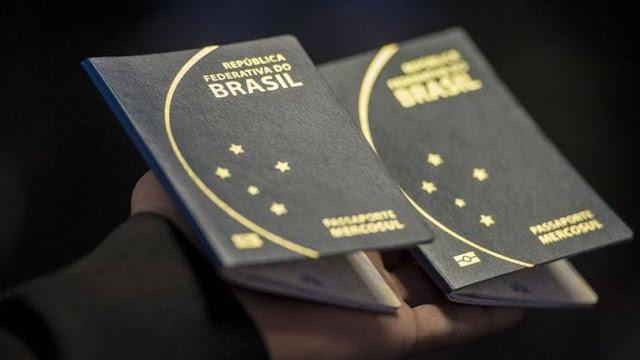 Novo passaporte no Brasil