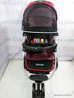 2 Kereta Bayi BabyDoes CH290 Jogger Roda Tiga