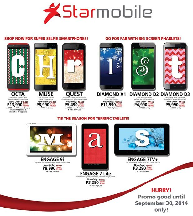 Starmobile Early Merry Christmas Promo Price List