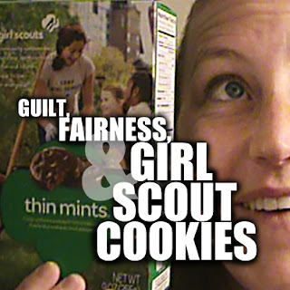 Today, we're gonna dive into a timely, controversial, and delicious topic: Guilt, Fairness, & Girl Scout Cookies.