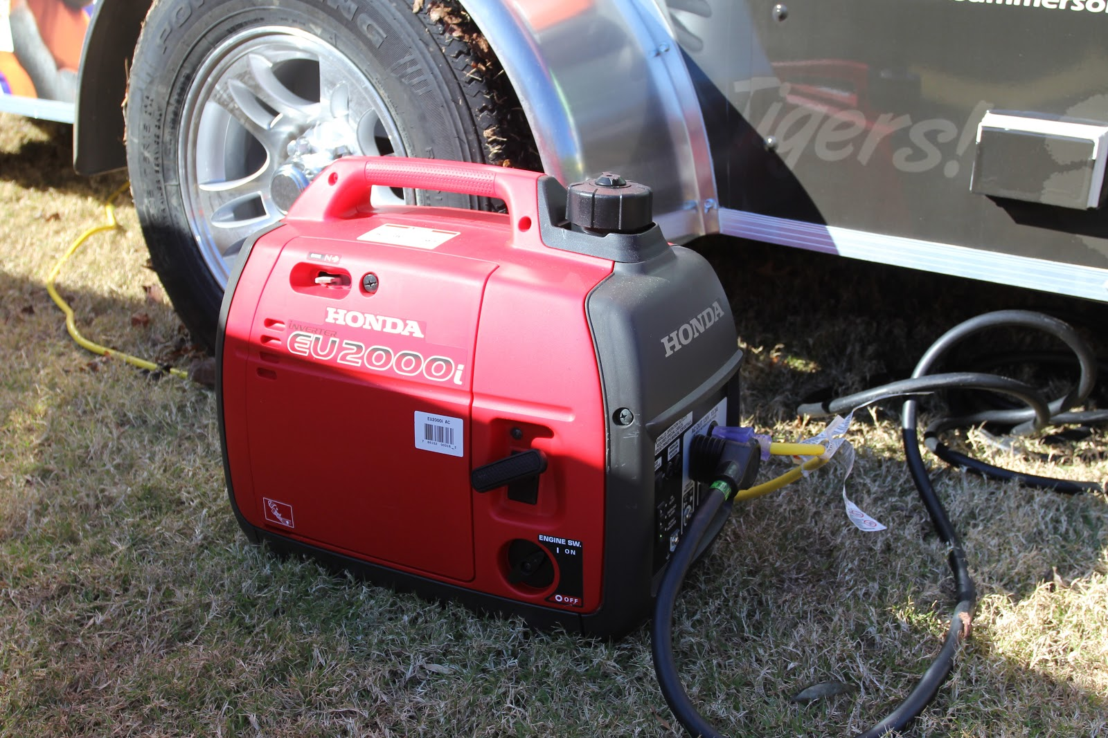 Cheryl's 2 Cents' Worth: Unequaled, Ultimate, Tailgate Trailer
