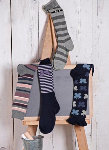 calcetines altos niños