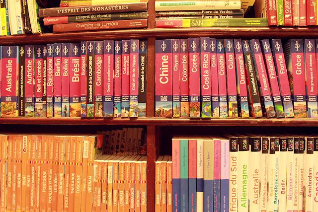 Librairie Guides de voyage