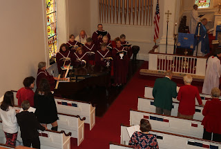 St. John's Episcopal Church Halifax Virginia choir