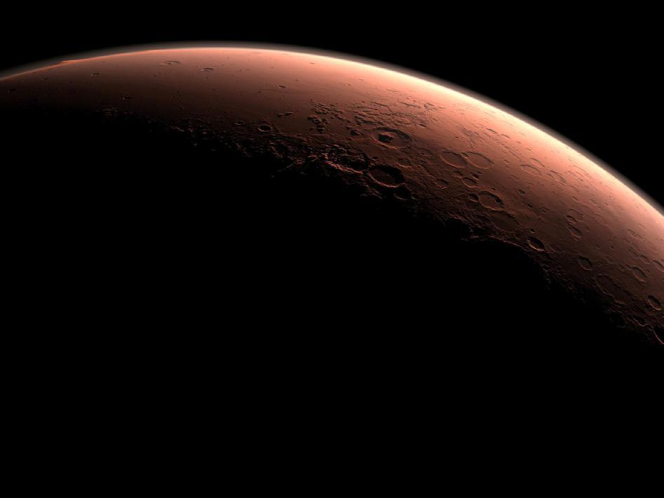 Astronomical Events Calendar: A Beautiful Martian Sunrise